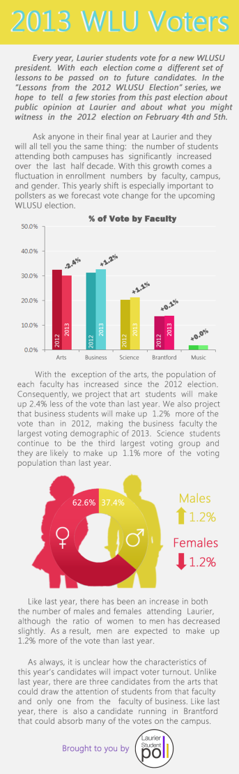 2013 Voters Infographic