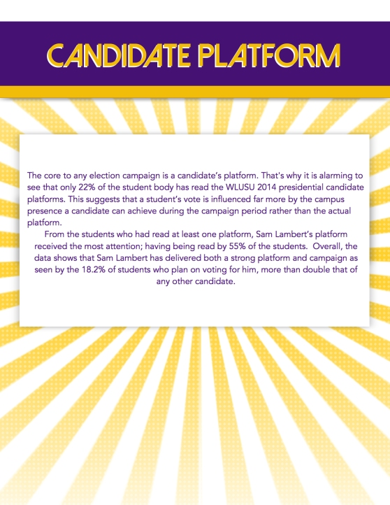 candidate platform